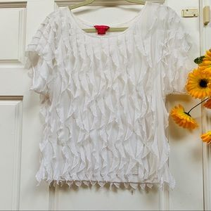 Sunny Leigh blouse size S